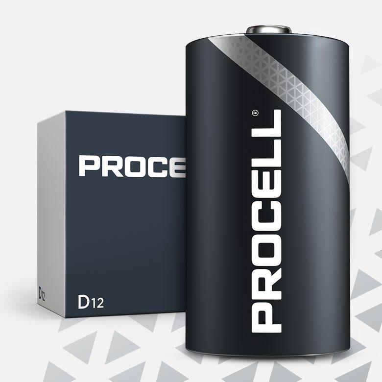 Procell Alkaline D, 1.5v