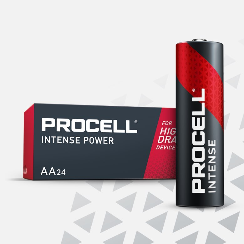 Procell Alkaline Intense Power AA, 1.5v