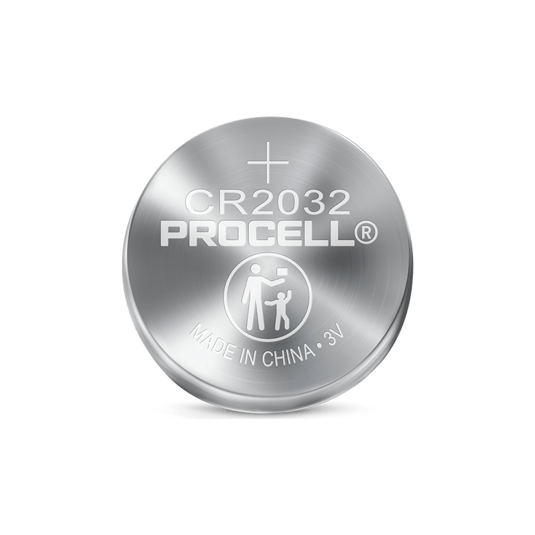 Procell Lithium Coin 2032, 3v