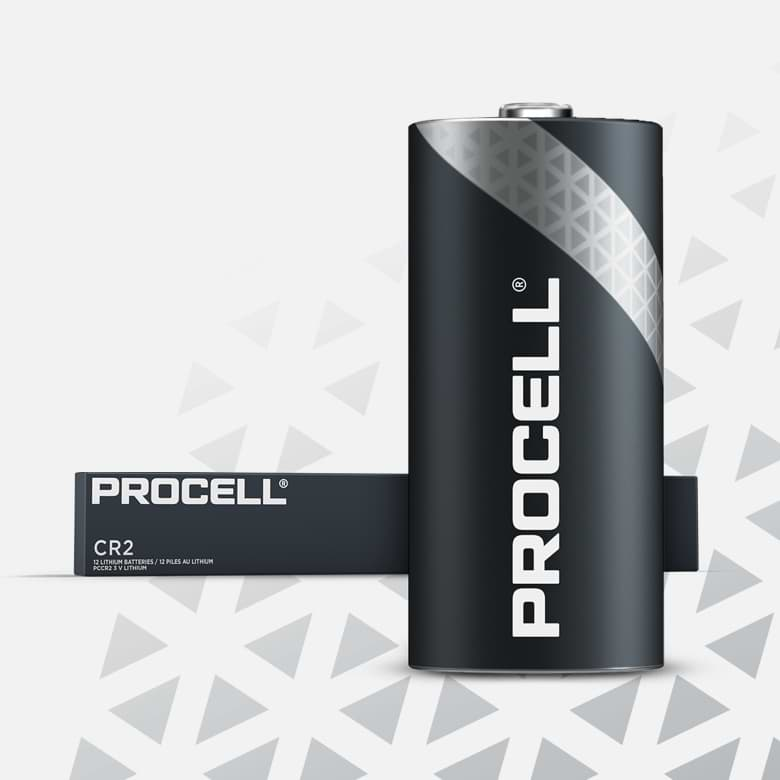 Procell High Power Lithium CR2, 3v Batteries