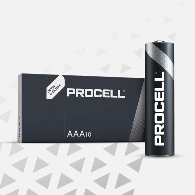 Procell Alkaline AAA, 1.5v Batteries