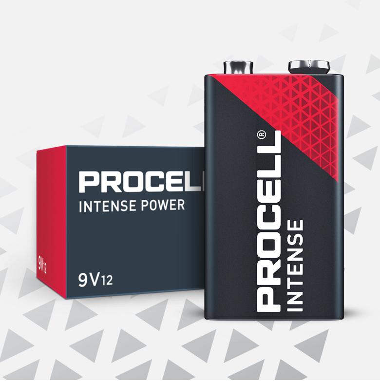 Procell Alkaline Intense 9v Batteries