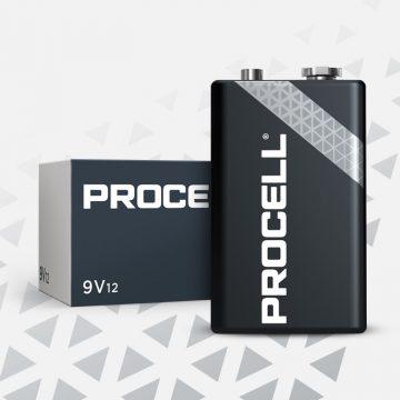 Procell Alkaline 9v
